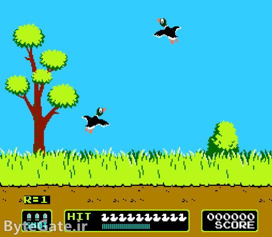 بازی شکار اردک میکرو نینتندو